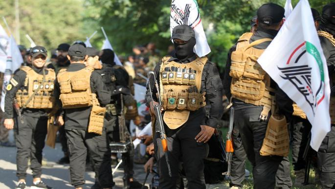 العراق فصائل تجتمع لبحث القصف الأميركي والصدر يعارض