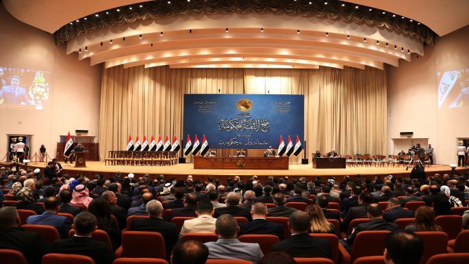 البرلمان العراقي يصوّت على الدوائر الانتخابية باستثناء محافظتين