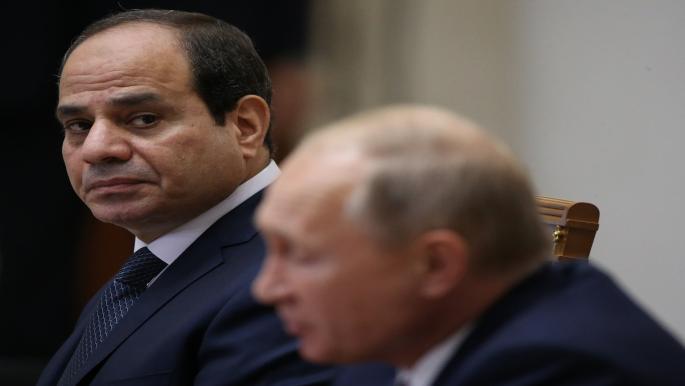 مقاربة السيسي للتوتر في الخليج تهدئة وتواصل عبر موسكو
