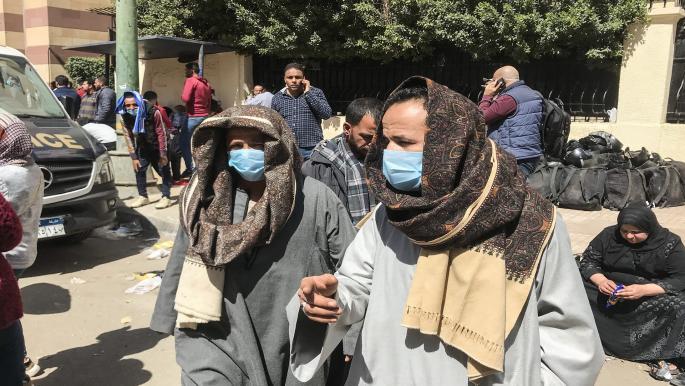 ارتفاع المعدل اليومي لحالات الإصابة بفيروس كورونا في مصر