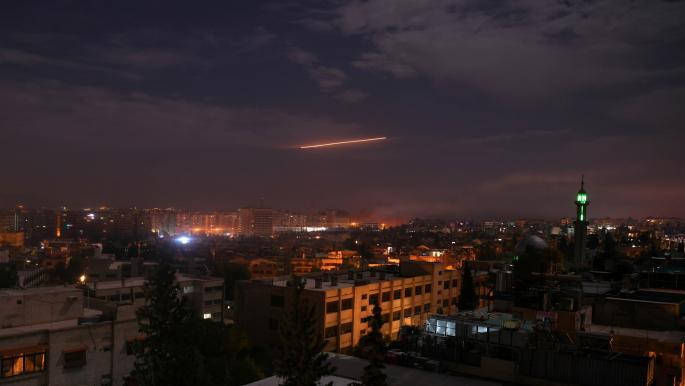 قصف إسرائيلي يستهدف مواقع للنظام السوري في حماة