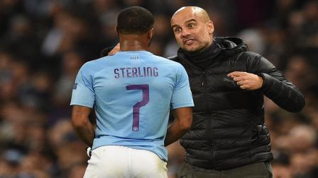 pep guardiola and Sterling