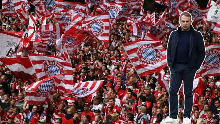 DORTMUND, GERMANY - AUGUST 23: Fans of Muenchen cheer during the Bundesliga match between Borussia Dortmund and FC Bayern Muenchen at the Signal-Iduna Park on August 23, 2008 in Dortmund, Germany. (Photo by Patrik Stollarz/Bongarts/Getty Images)